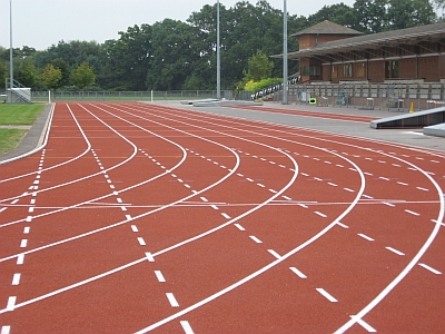 Running track and field