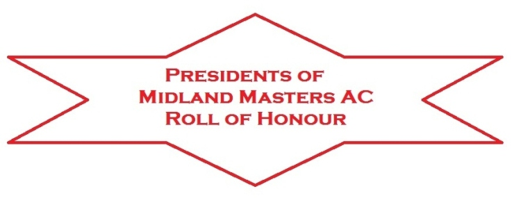 Presidents Roll of Honour