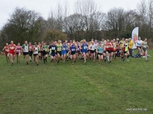 6k and 8k races get under way