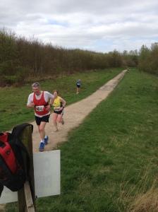 Approaching final lap