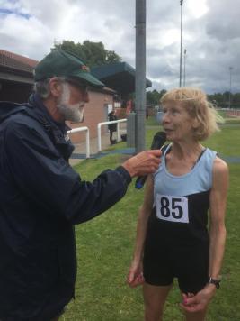 Angela Copson World Record 1500m